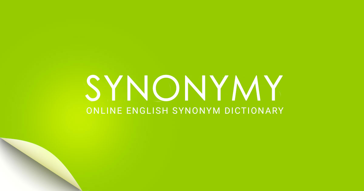 SYNONYMY - Online synonym dictionary